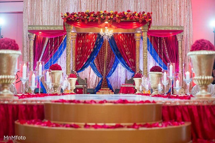 Indian Wedding Home Decoration Idea: Mandap In Houston, TX Indian Wedding By MnMfoto