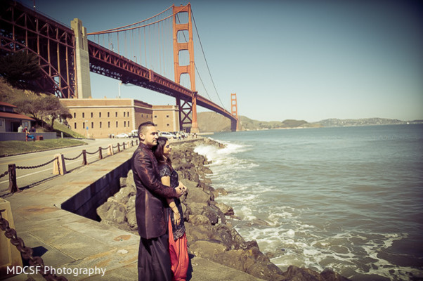Engagement in San Francisco, CA Indian Engagement by MDCSF Photography