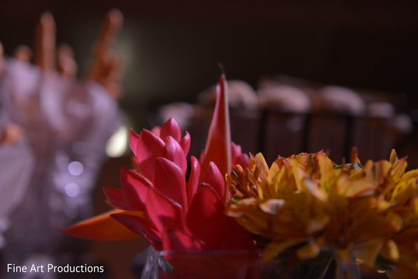 Floral & Decor in Cancun, Mexico Destination Indian Wedding by Fine Art Productions