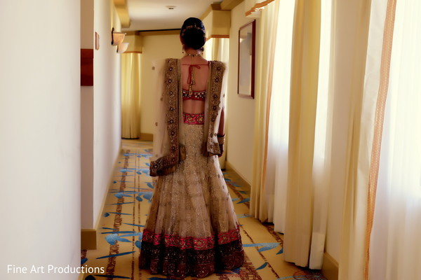 Portraits in Cancun, Mexico Destination Indian Wedding by Fine Art Productions