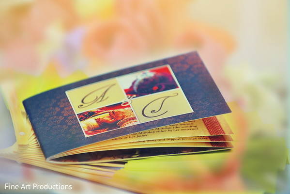 Invitations & Wedding Stationery in Cancun, Mexico Destination Indian Wedding by Fine Art Productions