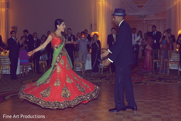Reception in Cancun, Mexico Destination Indian Wedding by Fine Art Productions