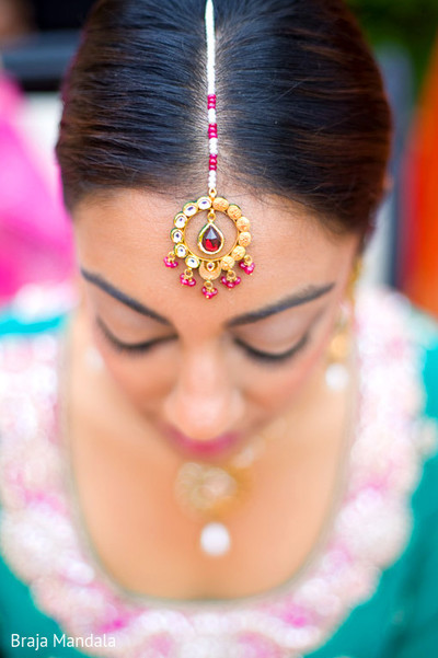 Bridal Jewelry in San Diego, CA Indian Wedding by Braja Mandala Wedding Photography