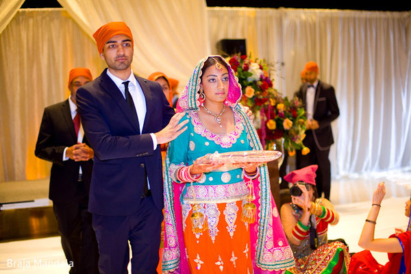 traditional indian wedding,indian wedding traditions,indian wedding traditions and customs,indian wedding tradition,traditional sikh wedding,sikh wedding,sikh ceremony,sikh wedding ceremony,traditional sikh wedding ceremony,Punjabi wedding,Punjabi wedding ceremony,sikh bride,indian bride,colorful lengha