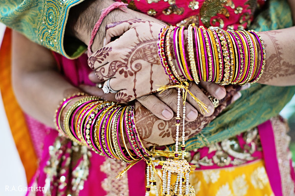 Bridal Jewelry in Braselton, GA Indian Wedding by R.A.G.artistry