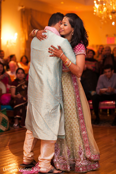 Sangeet in Long Island, NY Indian Wedding by Unique Visions Studio