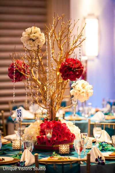 Floral & Decor in Long Island, NY Indian Wedding by Unique Visions Studio