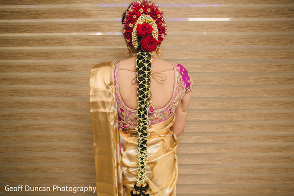 Hair & Makeup in Vijayawada, Indian Wedding by Geoff Duncan Photography