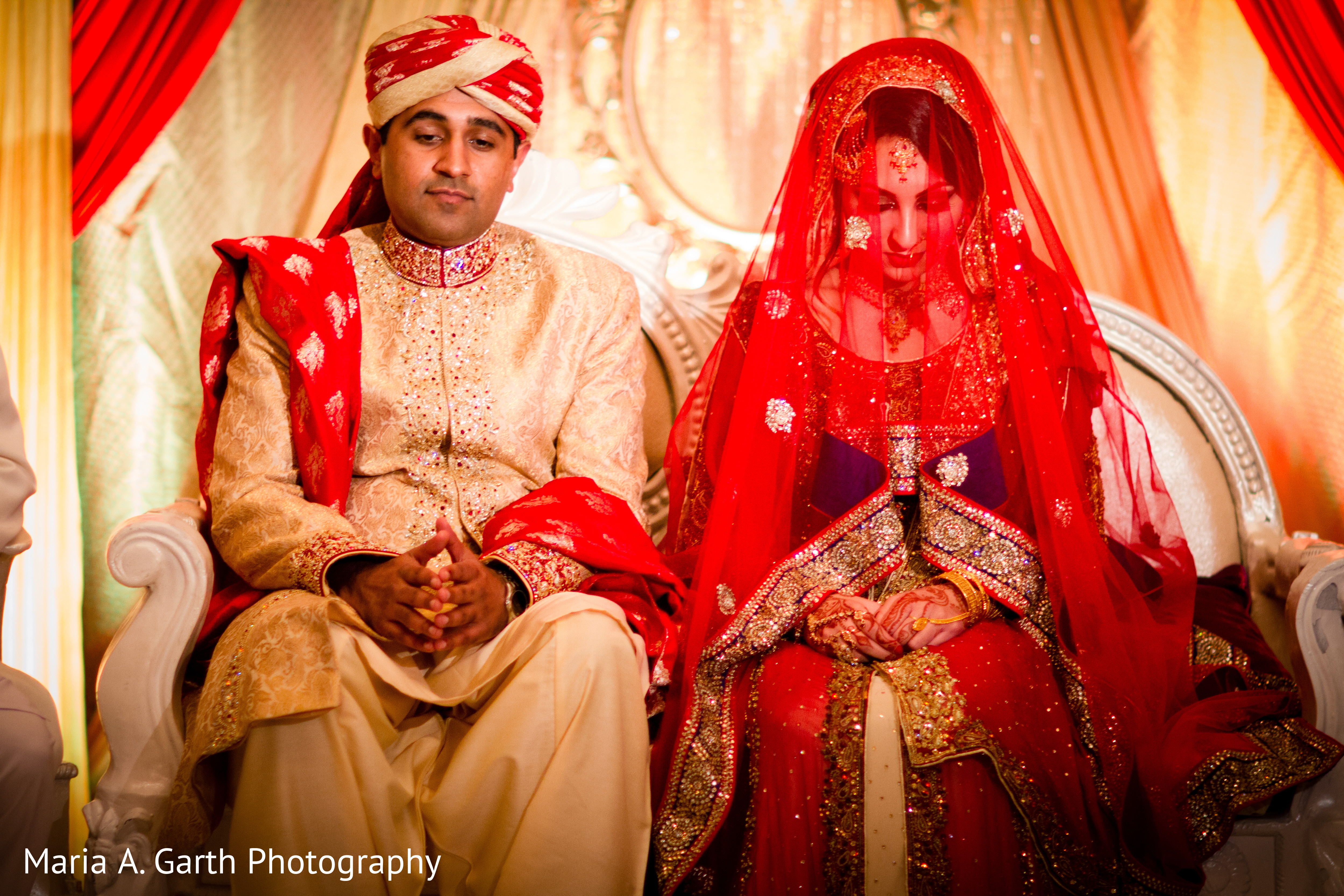 Ceremony in New Castle, DE Pakistani Wedding by Maria A ... - photo#7