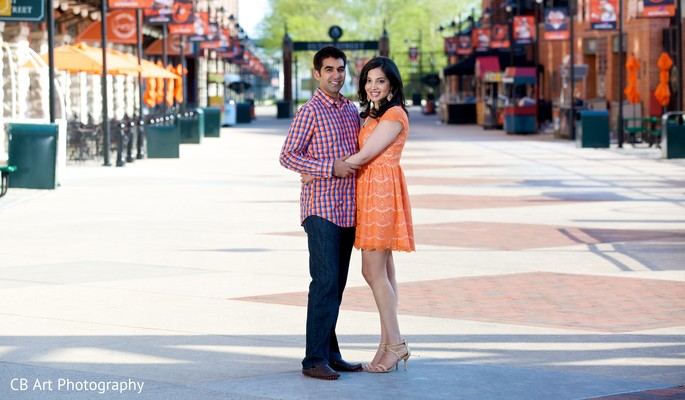 Engagement in Balitmore, MD Indian Engagement by CB Art Photography