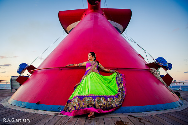 Portraits in Cozumel, Mexico Destination Indian Wedding by R.A.G.artistry