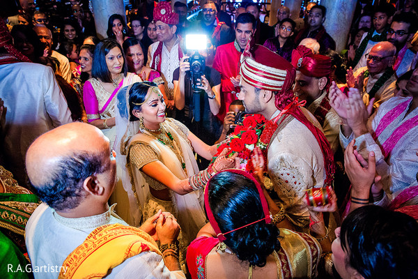 Ceremony in Cozumel, Mexico Destination Indian Wedding by R.A.G.artistry