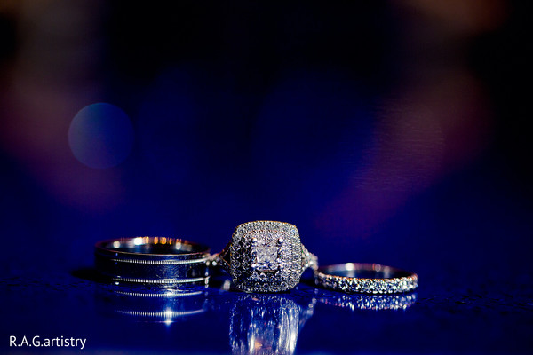 Bridal Jewelry in Cozumel, Mexico Destination Indian Wedding by R.A.G.artistry
