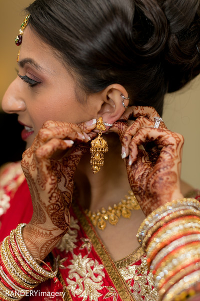 Bridal Jewelry in Anaheim, CA Indian Wedding by RANDERYimagery