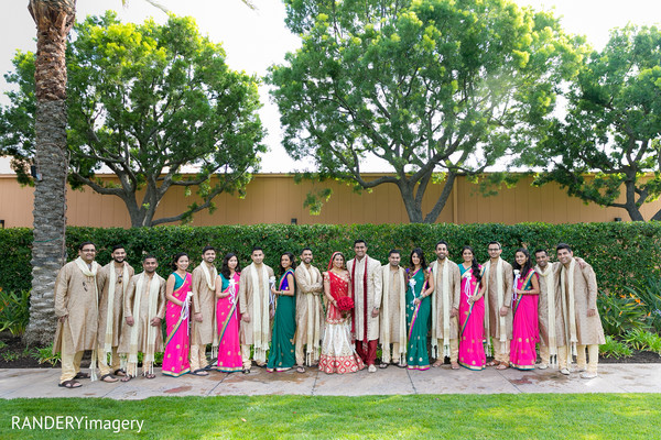 bridal party,indian bridal party,indian wedding party,wedding party