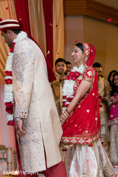 Ceremony in Anaheim, CA Indian Wedding by RANDERYimagery