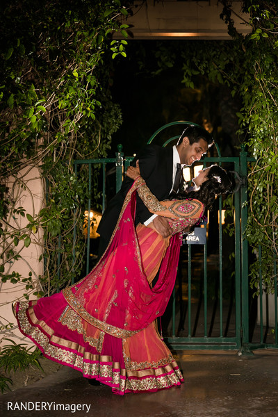 Portraits in Anaheim, CA Indian Wedding by RANDERYimagery