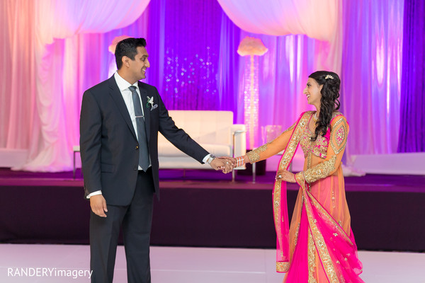 Reception in Anaheim, CA Indian Wedding by RANDERYimagery