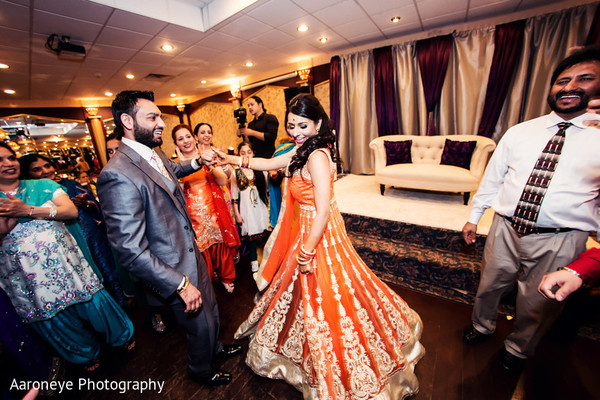 Engagement in Riverside, CA Indian Wedding by Aaroneye Photography