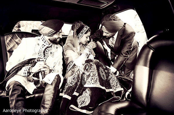 Ceremony in Riverside, CA Indian Wedding by Aaroneye Photography
