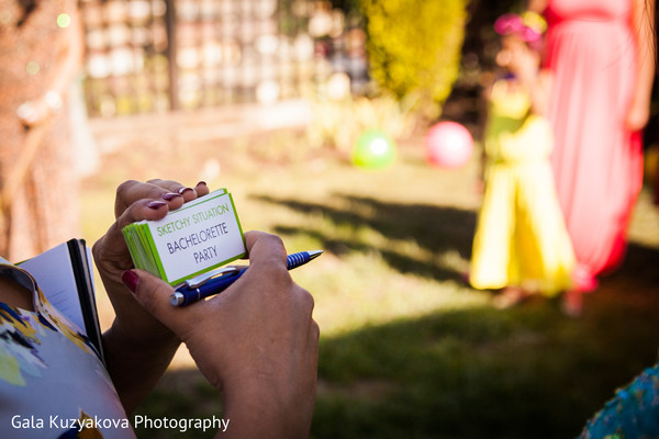 Pre-wedding Celebrations in Antioch, CA Indian Bridal Shower by Gala Kuzyakova Photography