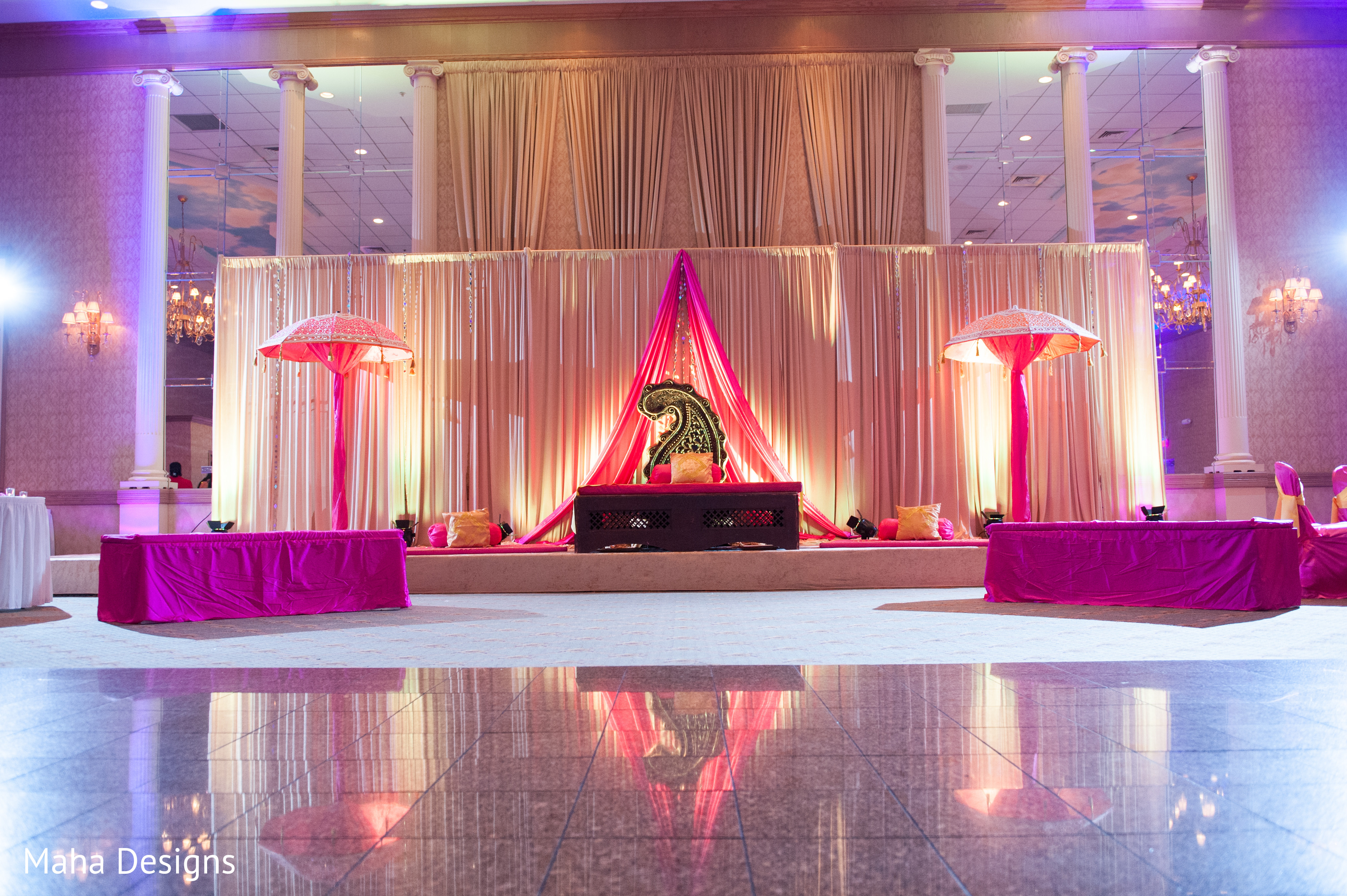 Chicago Il Indian Fusion Wedding By Maha Designs