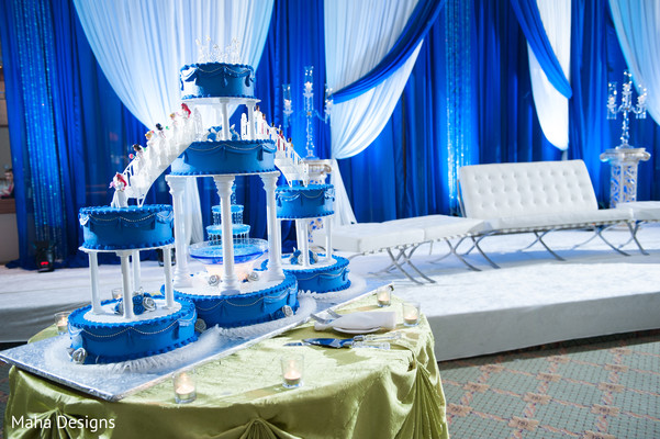 blue wedding decoration ideas. Reception In Chicago IL Indian Fusion Wedding By Maha Designs Fascinating Blue Decoration Ideas Contemporary  Best idea