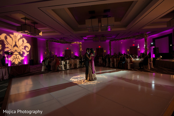 Reception in Wichita, KS Indian Fusion Wedding by Mojica Photography