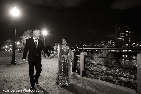 Portraits in Jersey City, NJ Indian Fusion Wedding by Ryan Jensen Photography
