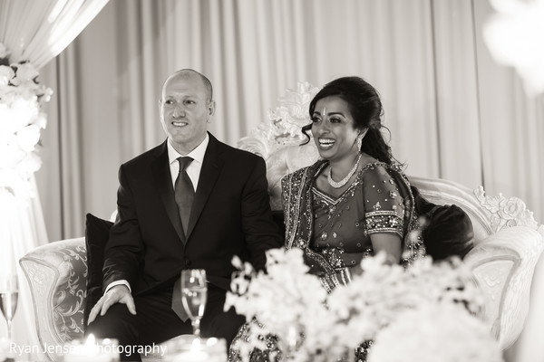 indian wedding ideas,ideas for indian wedding reception,reception,indian reception,indian wedding reception,wedding reception,indian bride and groom,photos of brides and grooms,images of brides and grooms,black and white portraits,black and white photography,reception portraits