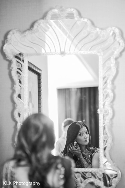 Getting Ready in Tulsa, OK Indian Wedding by KLK Photography
