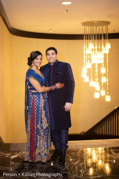 Portraits in Boston, MA Indian Wedding by Person + Killian Photography