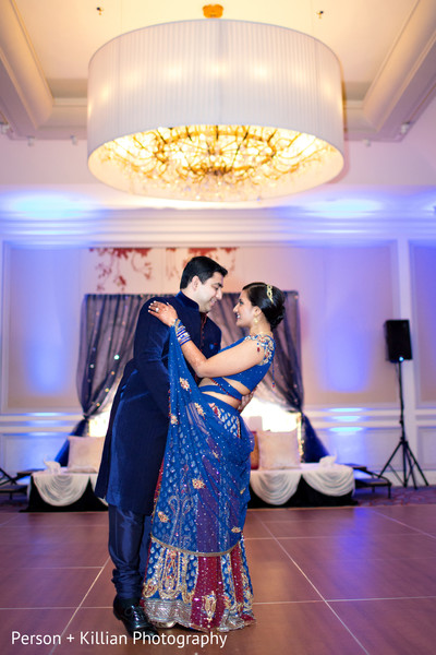 Sangeet in Boston, MA Indian Wedding by Person + Killian Photography