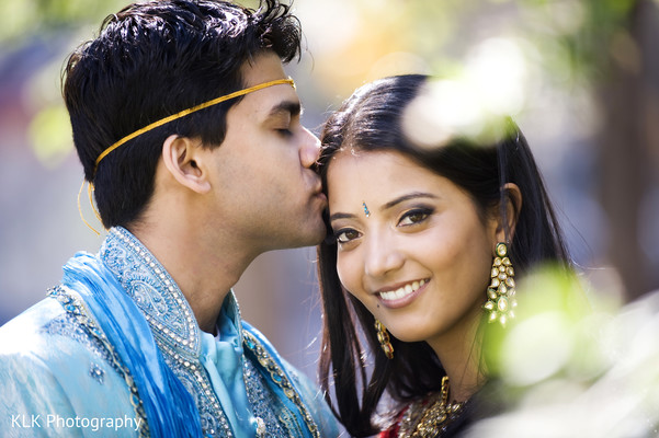 Portraits in Tulsa, OK Indian Wedding by KLK Photography