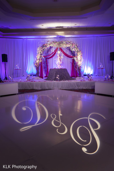 Floral & Decor in Tulsa, OK Indian Wedding by KLK Photography