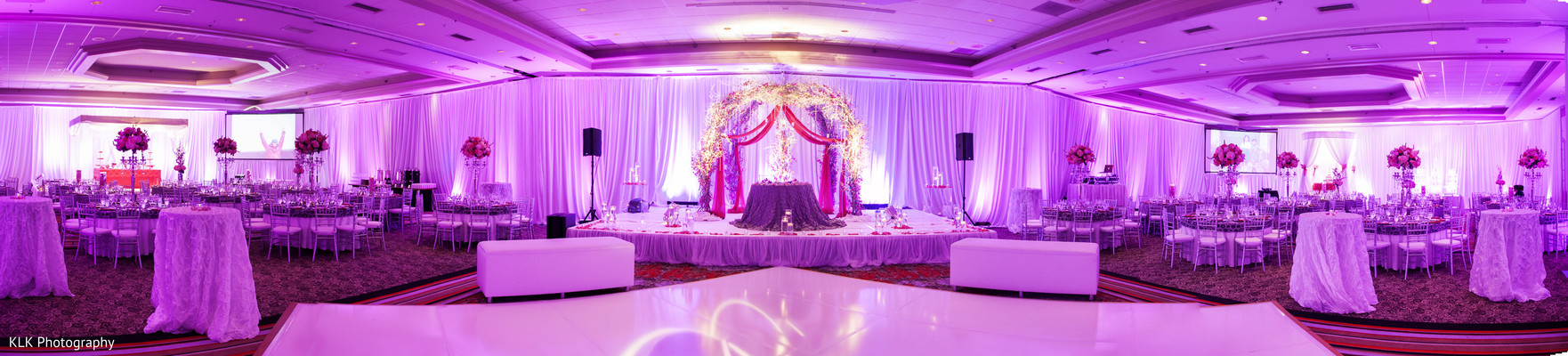 Venue in Tulsa, OK Indian Wedding by KLK Photography