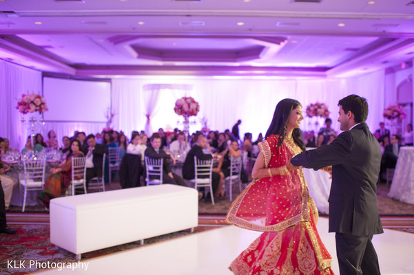 Reception in Tulsa, OK Indian Wedding by KLK Photography