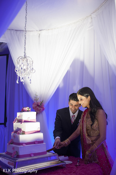 Cakes & Treats in Tulsa, OK Indian Wedding by KLK Photography
