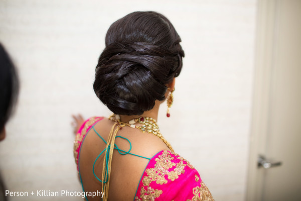 Hair & Makeup in Boston, MA Indian Wedding by Person + Killian Photography