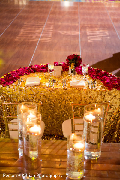 Floral & Decor in Boston, MA Indian Wedding by Person + Killian Photography