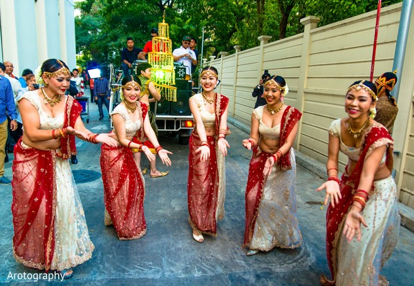 baraat,groom baraat,indian groom,indian groom baraat,baraat procession,baraat ceremony,Indian bridegroom,bangkok,thailand,dancers,bollywood dancers