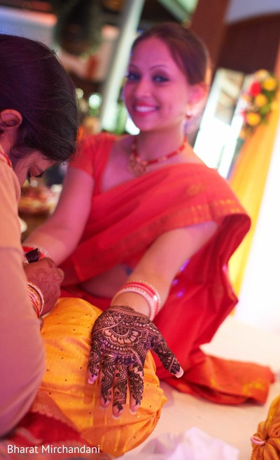 Mehndi Party in Alila Diwa, Goa Indian Destination Wedding by Bharat Mirchandani Photography