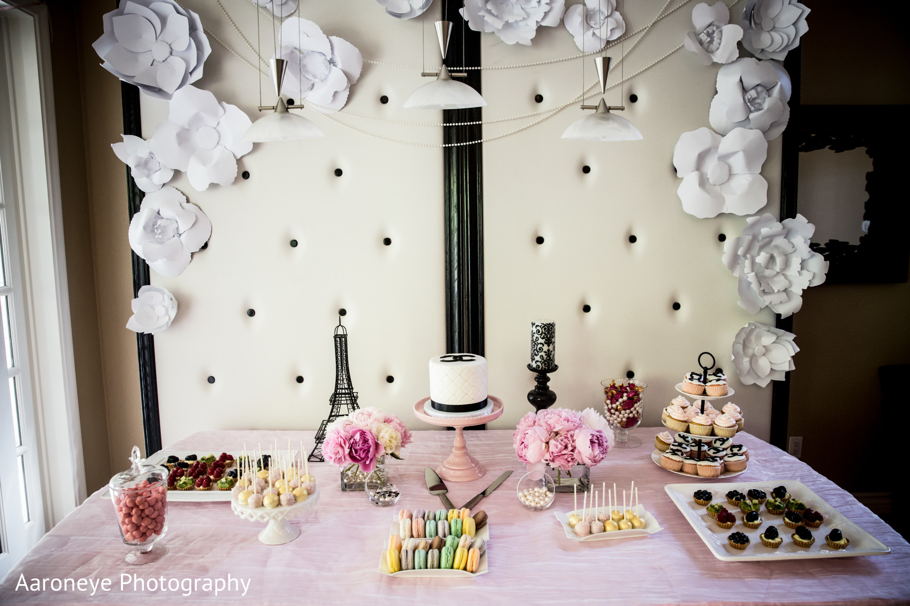 Chanel-Themed Indian Bridal Shower by Aaroneye Photography