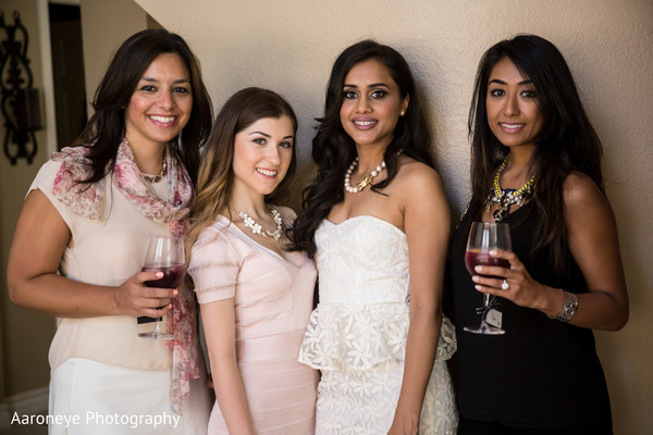 Portraits in Chanel-Themed Indian Bridal Shower by Aaroneye Photography