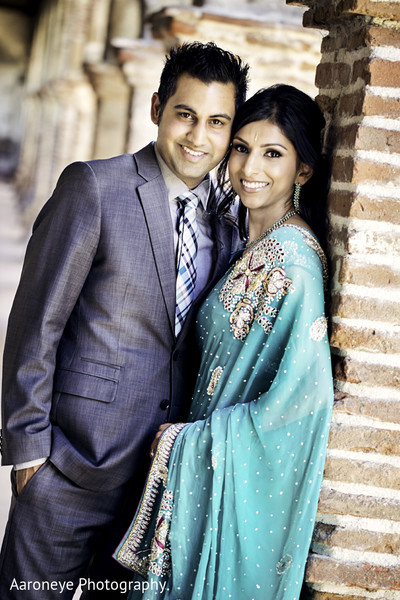 Engagement in San Juan Capistrano, CA Indian Engagement by Aaroneye Photography