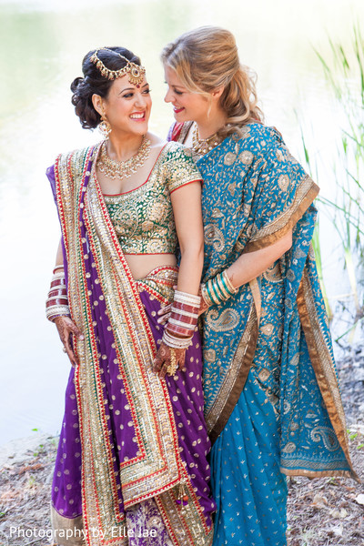 Portraits in Napa, CA Indian Fusion Wedding by Elle Jae Wedding Photography
