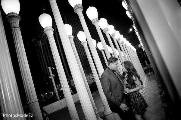 Engagement in Los Angeles, CA Indian Engagement by PhotosMadeEz