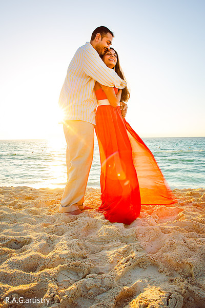 Portraits in Cancun, Mexico Indian Destination Wedding by R.A.G.artistry