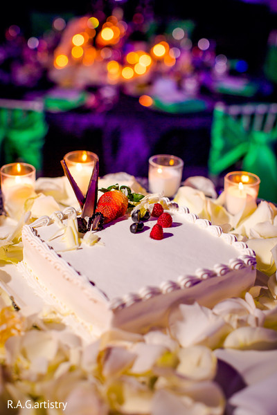 Cakes & Treats in Cancun, Mexico Indian Destination Wedding by R.A.G.artistry