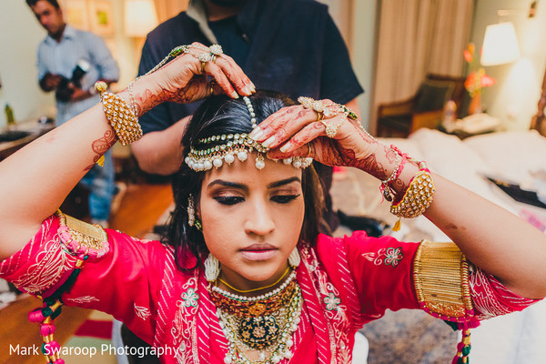 Getting Ready in Bangalore, India Wedding by Mark Swaroop Photography